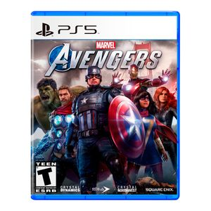 Juego Ps5 Marvels Avengers Latam
