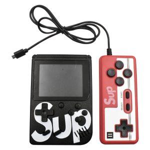 Mini Consola Retro SUP 400 juegos + Mando Adicional 2 Jugadores Negro