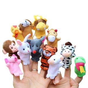 Títeres Booforkids Animalitos Pack de 12 unidades