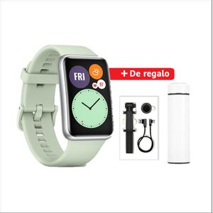 Smartwatch Huawei Watch Fit Verde + Thermo Inox + Selfie Stick + Cable USB-C