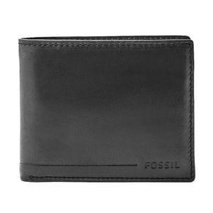 Billetera Fossil Allen RFID Passcase para Hombre SML1549001 Negro