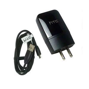Cargador Htc + Cable De Datos 5v 1.5Amp Negro