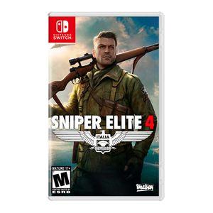 Juego Nintendo Switch Sniper Elite 4