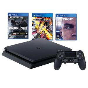 Consola PlayStation 4 Slim 1TB + 3 Juegos
