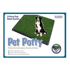 Baño Portátil para Perros Medianos Petpotty 63 cm