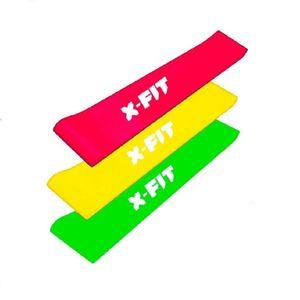 3 Bandas X-Fit banda para ejercicios sentadilla aductores