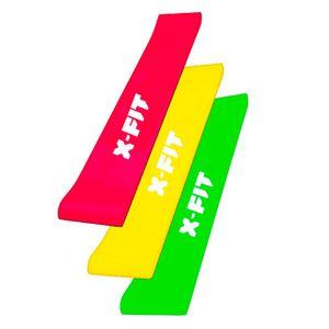 3 Bandas X-Fit Para Ejercicios De Sentadillas Aductores