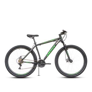 Bicicleta Best Stock c/susp Aro 29 Negro/Verde