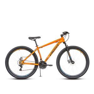 Bicicleta Best Stock c/susp Aro 29 Naranja/Negro