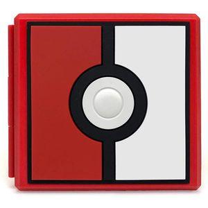 Case PortaJuegos de Nintendo Switch Estuche 12 Slots - Pokeball