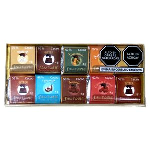 Chocolates con Sabores Surtidos Santorie Blíster de 10 Unidades