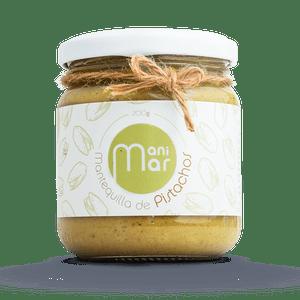 Mantequilla de Pistachos Manimar con Stevia 200 gr