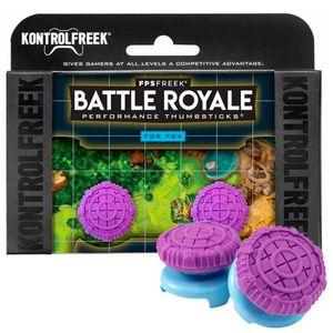 KontrolFreek Battle Royale para Mando PS4 PS5 Precisión Grips Violeta