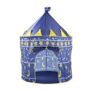 Carpa Castillo para Niños Armable Azul