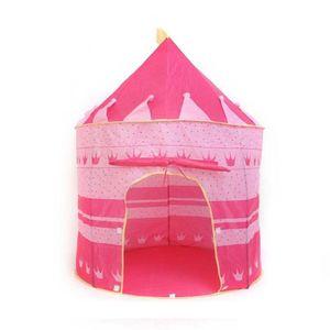 Carpa Castillo para Niños Armable Rosado