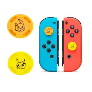 2 Und Grips para Nintendo Switch Protectores de Joystick Pikachu Evee