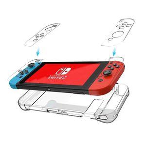 Case para Nintendo Switch Transparente 5 Piezas Rígido
