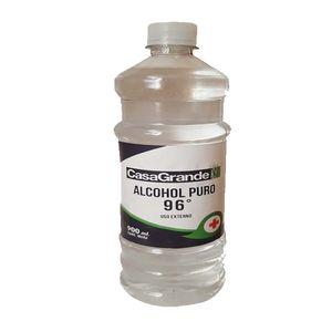Alcohol Puro 96% Etílico Casa Grande 900mL