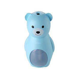Mini Humidificador Difusor Oso Decorativo 160 ml Blue