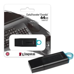 Memoria USB 64 GB 3.2 Kingston Original