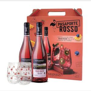Pack Pasaporte Rosso Tabernero