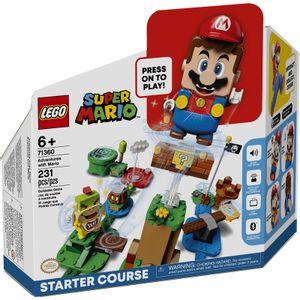 Pack inicial aventuras con Mario 71360 LEGO Super Mario