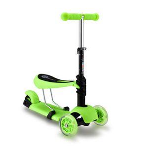 Scooter 3 en 1 para Niños Verde