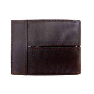 Billetera de Cuero para Caballero Color Moro