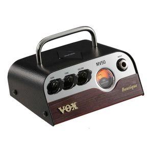 Amplificador cabezal para Guitarra VOX MV50-BQ Marrón