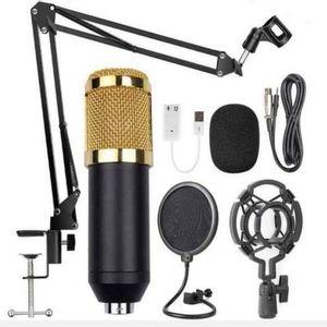 Microfono Condensador Brazo Soporte Bm800 Pc Estudio Antipop