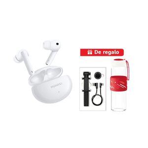 Audífonos Huawei Freebuds 4i Blanco + Selfie Stick + Cable USB-C + Tomatodo premium