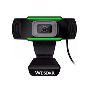Cámara Web Wesdar Full HD 1080p, Plug and Play