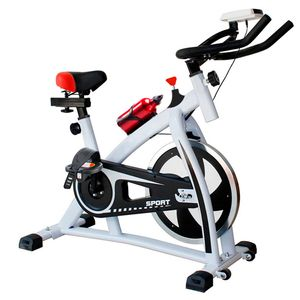 Bicicleta Spinning Ajustable Pantalla Cardio Flywheel 6kg Garantía