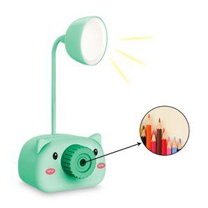 Lámpara de Escritorio LED Multifunción Tajador, Portalápices