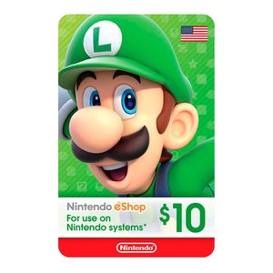 Tarjeta Gift Card Eshop 10 $