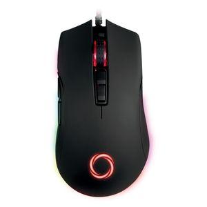 Mouse Gamer Nibio Trigger RGB 12.000 DPI Programable 7 botones