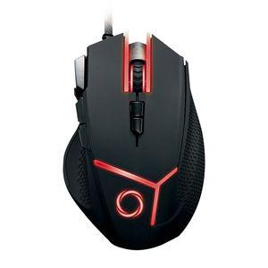 Mouse Gamer Nibio Gear 9 botones 4000dpi con Pesos RGB