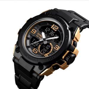 Reloj Deportivo Skmei 1452 Acuatico Negro con Dorado