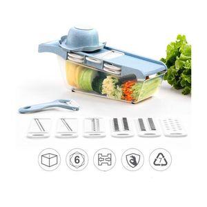 Picador Rallador de Frutas y Verduras Picatodo Multifuncional