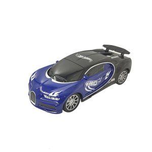 Carro A Control Remoto Hotwheels Value Racing Lux Azul Y Negro