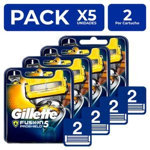 Cartuchos Gillette Fusion5 Proshield 2 unidades PackX5