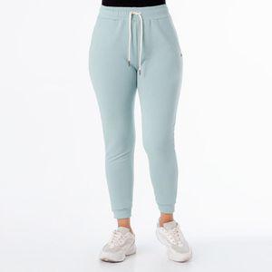 Pantalón Jogger Mujer  French Terry Soniah Slit Green