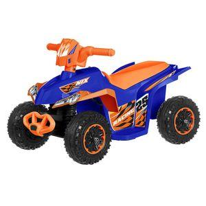 Cuatrimoto A Batería Loko Toys Ct-726-A Azul
