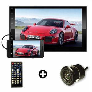 Auto Radio Pantalla Táctil Capacitiva 7 Mirrorlink Bluetooth Usb Cámara de Reversa