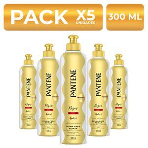 Crema para peinar Pantene Rizos Definidos 300ml PackX5