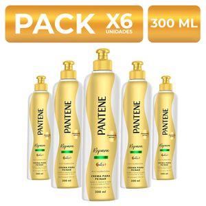 Crema para peinar Pantene Restauración 300ml PackX6