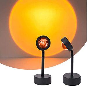 Lámpara de Proyección LED Sunset Lamp Rotación 180 Grados