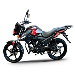 Motocicleta Mavila Diávolo 125 Negra 125 cc