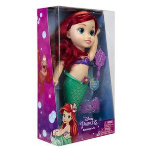 Muñeca Princesas Ariel Hora del Baño de 35cm