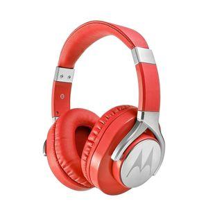 Audífono Motorola Pulse Max con Cable y Micrófono Color Rojo